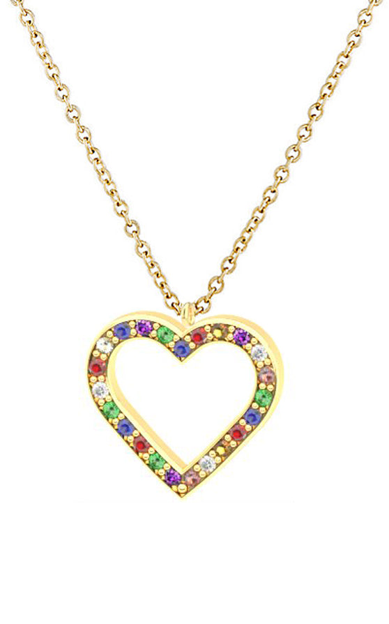 HEART NECKLACE - MAKKO