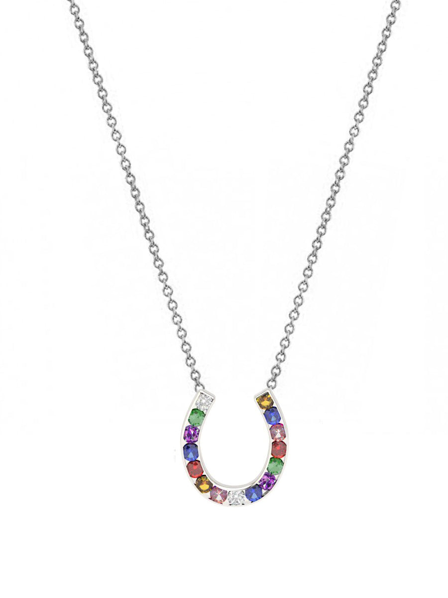 HORSESHOE NECKLACE - MAKKO