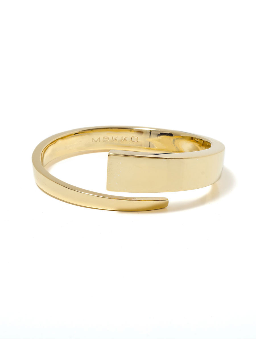 GOLD/SILVER WRAP BANGLE - MAKKO