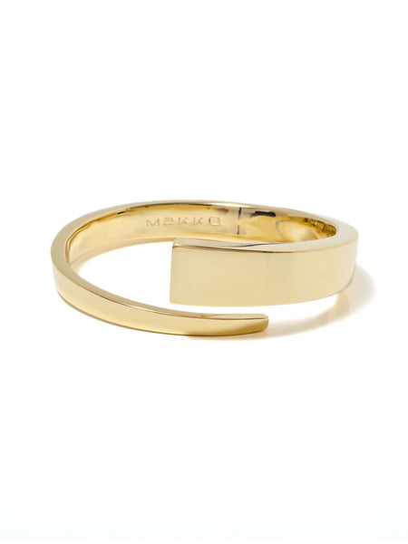 GOLD/SILVER WRAP BANGLE