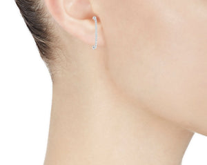 PAVE EARRINGS - MAKKO