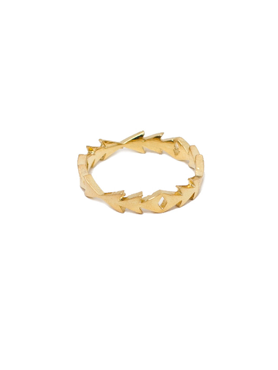 FLOWING ARROW RING - MAKKO