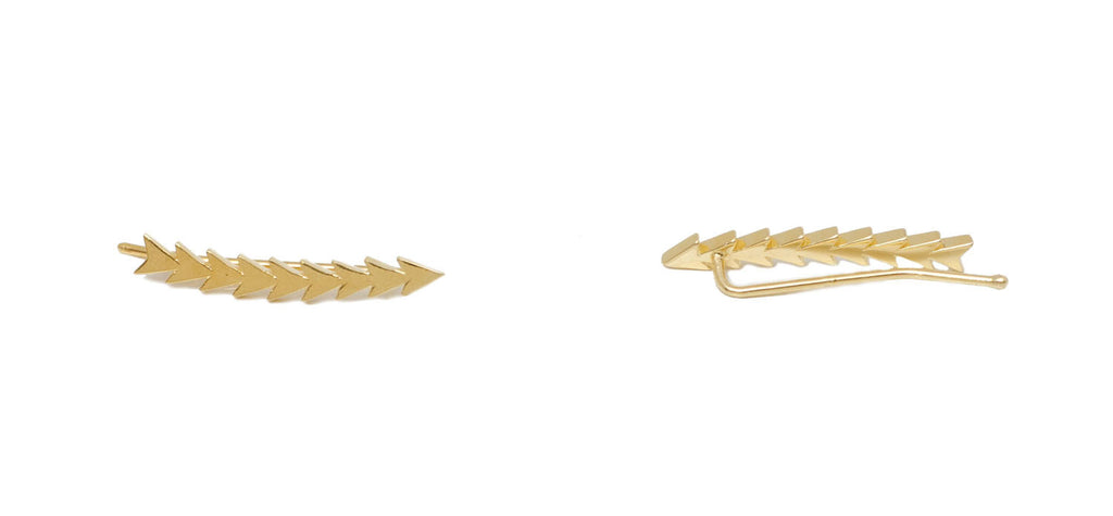 SMALL ARROW EAR CUFF - MAKKO