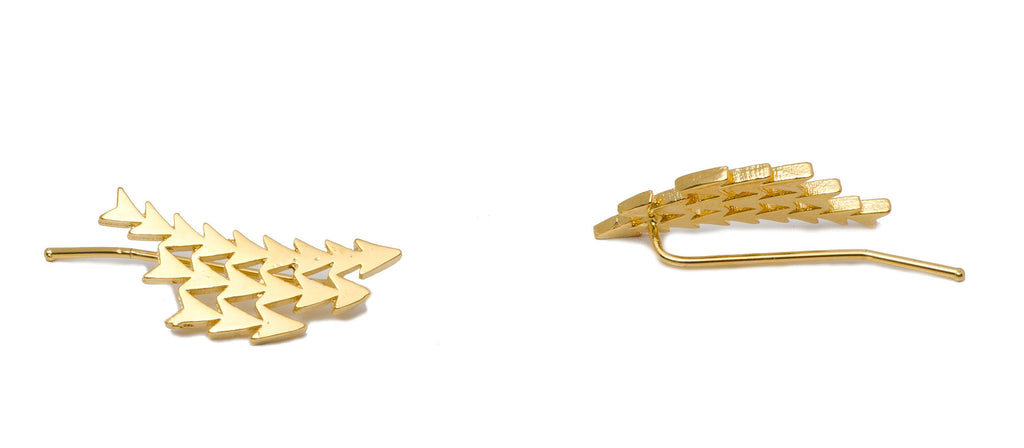 STACKED ARROW EAR CUFF - MAKKO