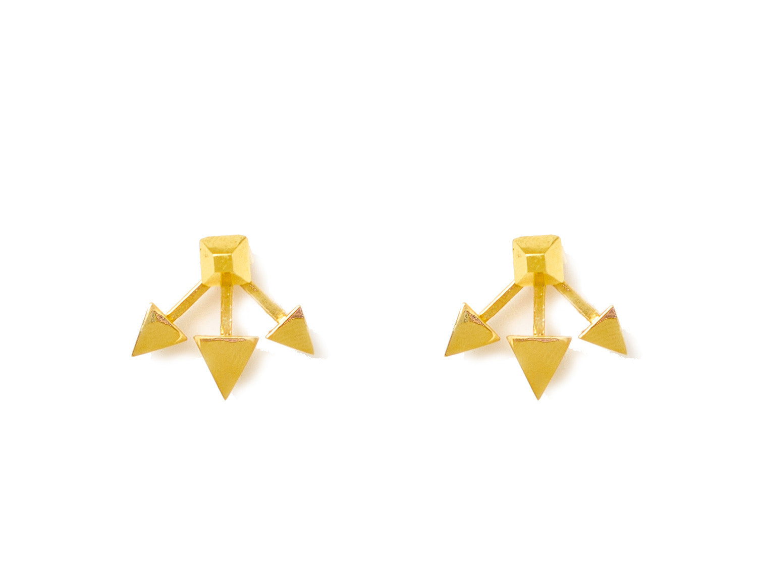 TRIPLE ARROW EARRINGS - MAKKO