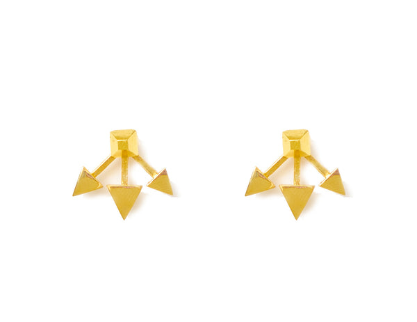 TRIPLE ARROW EARRINGS