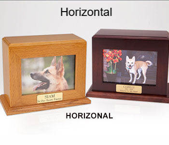 Framed Photo Urn