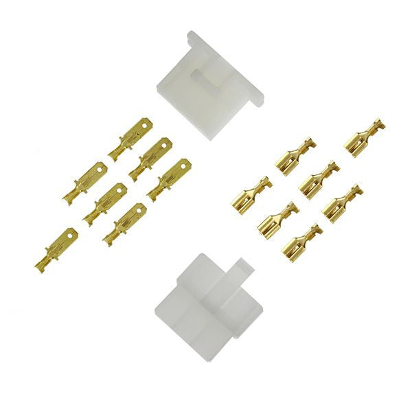 ES130 6-pin OLD STYLE Connector Set 1/4""