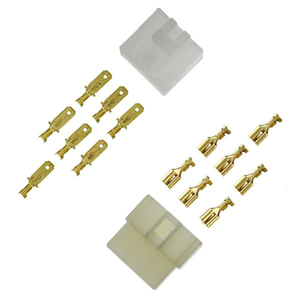 ES132 6-pin NEW STYLE Connector Set 1/4""