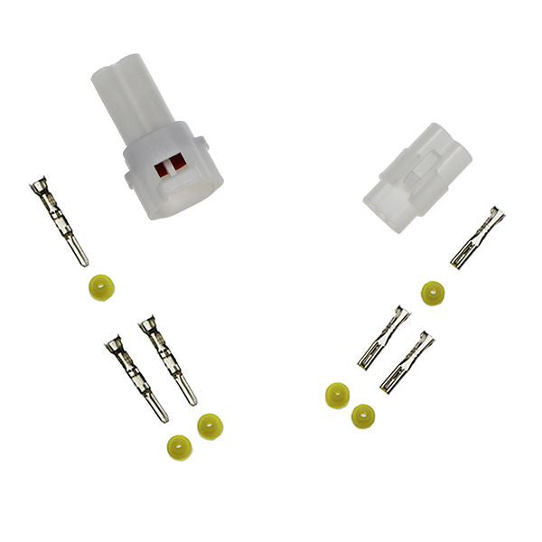 ES140 2-pin Sealed Connector Set WHITE - Type A