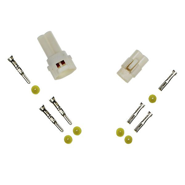 ES142 2-pin Sealed Connector Set WHITE - Type B