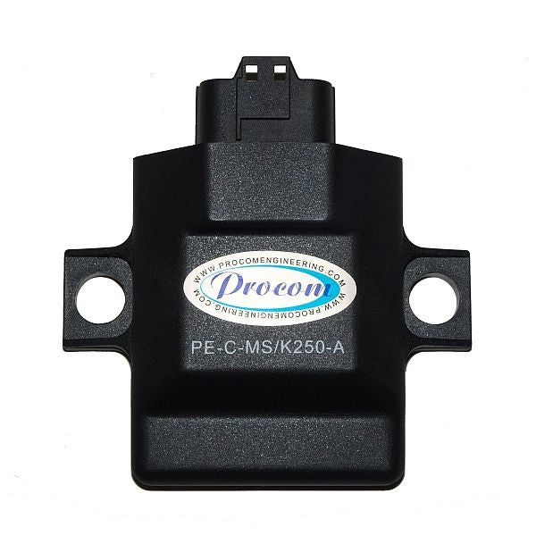 PE-C-MS/K250-A Performance CDI For: Suzuki RM-Z250 & Kawasaki KX250F (500 RPM Over Stock, Year 04)
