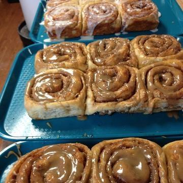 Closed Until January 9th...Plus the most Cinnamon Rolls we've ever rolled out!