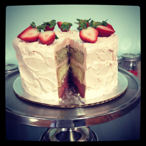 Strawberry Sunset