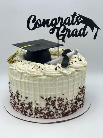 Add a Cap and Diploma Amycakes Bakery