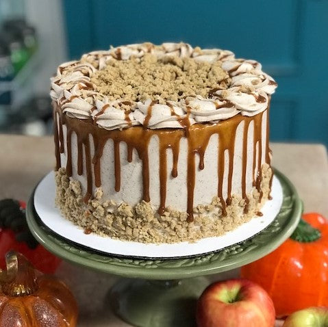 Apple Crumble Amycake (3 days notice required in NOVEMBER-DECEMBER)