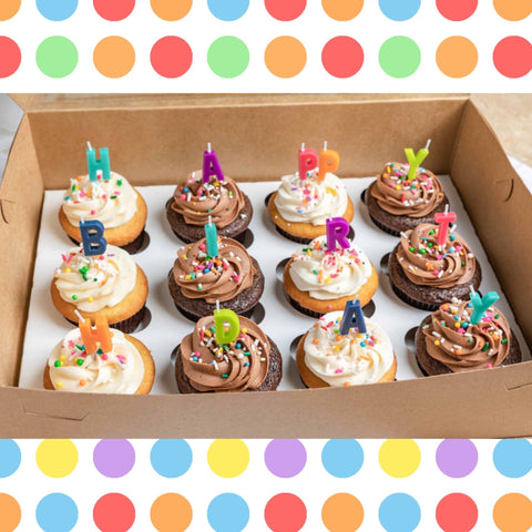 Celebration Cupcake Birthday Box Amycakes Bakery