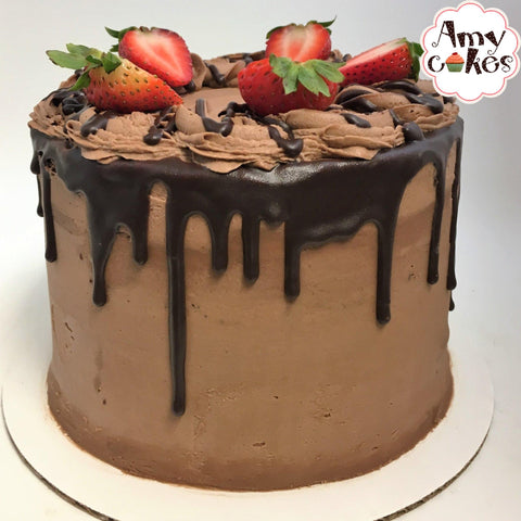 Chocolate Covered Strawberry Amycake Amycakes Bakery