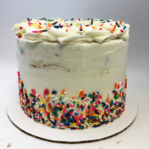 Confetti Amycake (2 weeks' notice required)