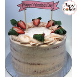 Fresh Strawberry Amycake Amycakes Bakery