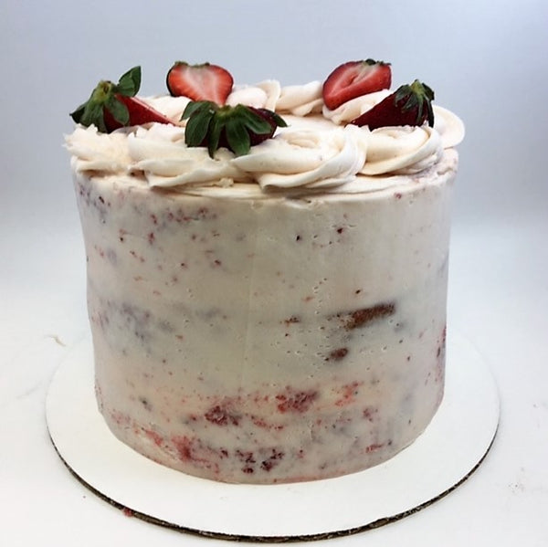 Fresh Strawberry Amycake (June 12th or later)
