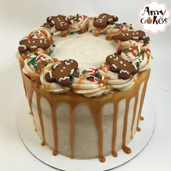 Holiday Pumpkin Spice Amycake