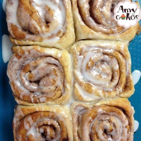 1/2 Dozen Cinnamon Rolls--Classic or Maple Pecan