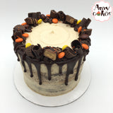 Halloween Peanut Butter Fudge Amycake