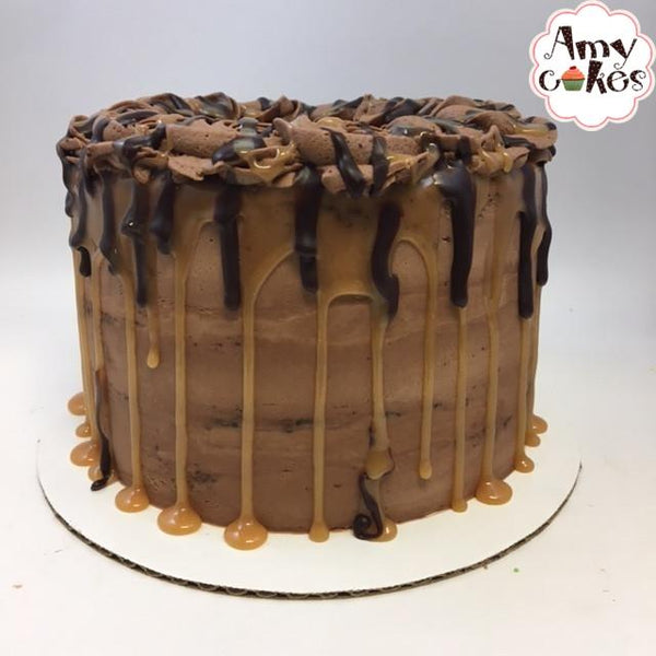 Chocolate Caramel Amycake