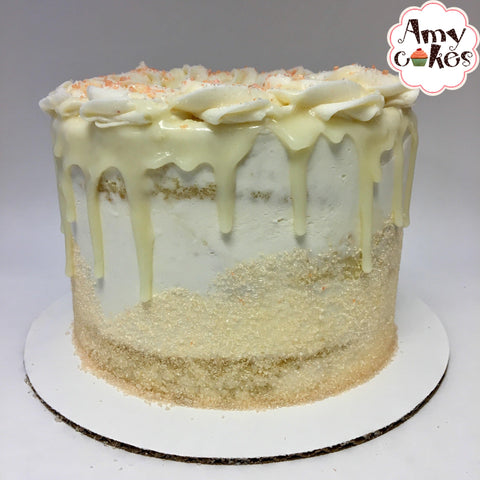 Peaches 'n' Cream Amycake (Seasonal)