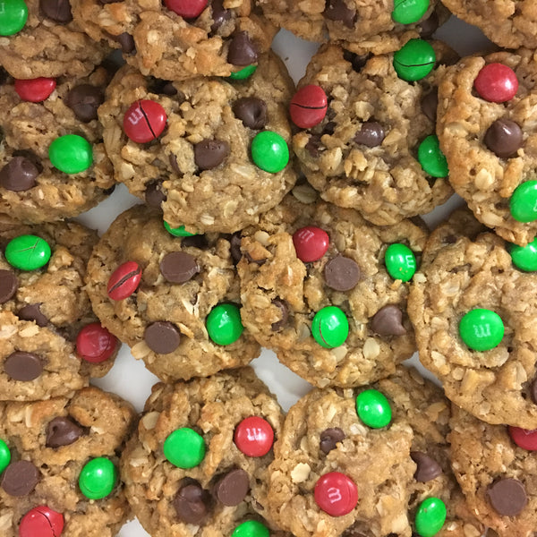 Holiday Monster Cookies