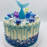 Mermaid Cake Amycakes Bakery
