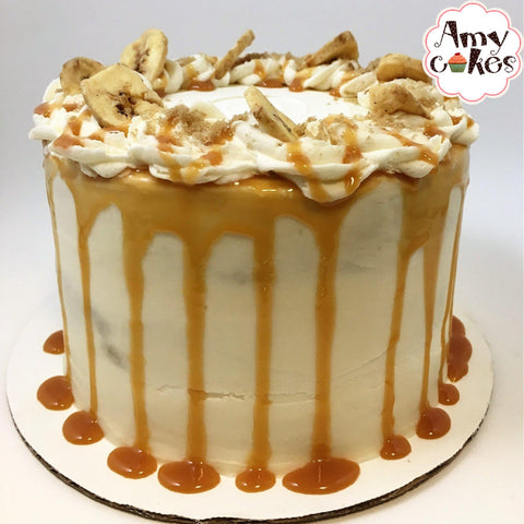 Old-Fashioned Banana Amycake (6 inch) - Amycakes Bakery