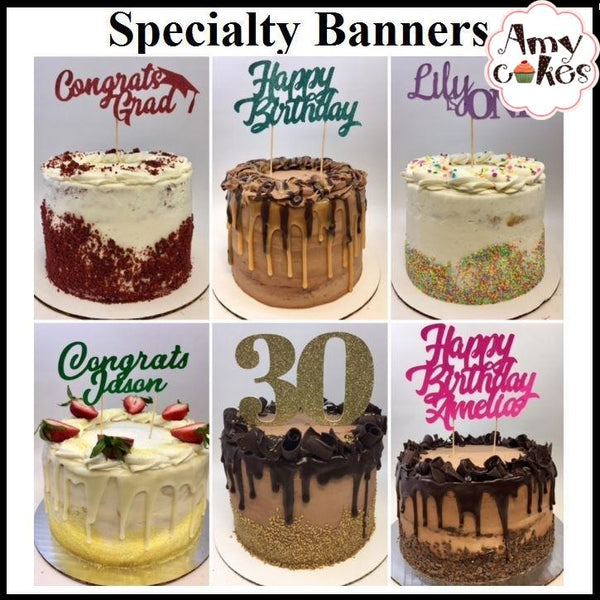 Specialty Banner Examples