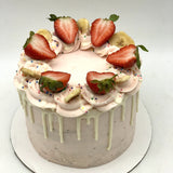 Strawberry Banana Smoothie Amycake Amycakes Bakery