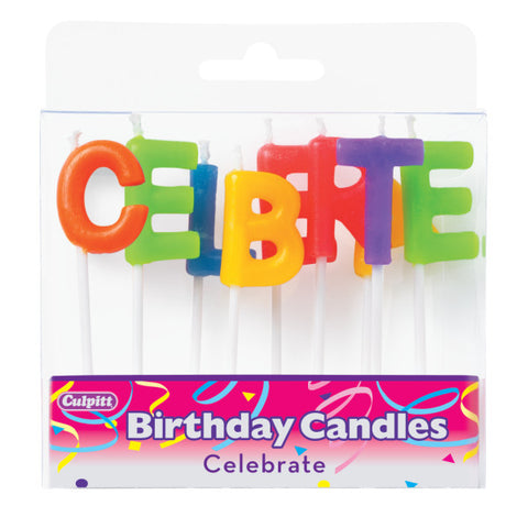 Box of Letter Candles
