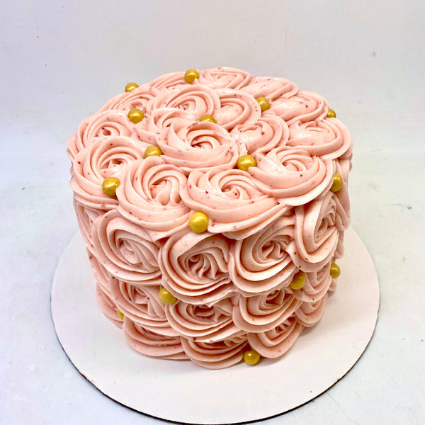 Classic Rosette Cake (2 weeks' notice required)
