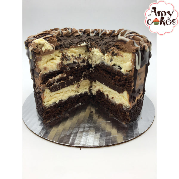 Chocolate Ganache Cheesecake Amycake (6 inch)