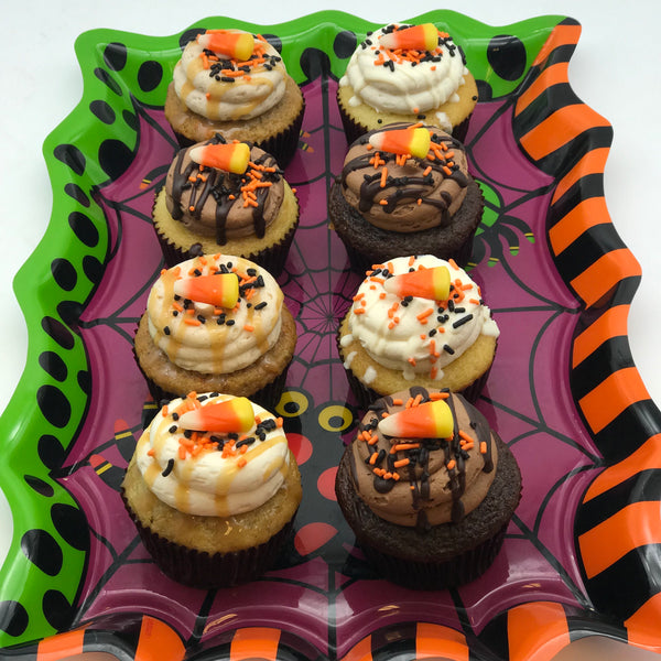 Halloween Variety Cupcakes (we pick the flavors) - Amycakes Bakery