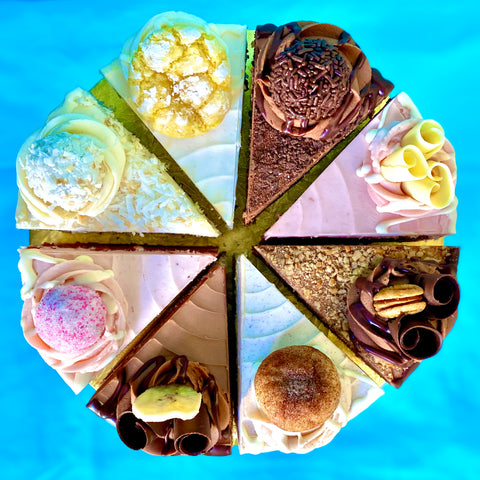 Amycakes Favorites: June Deluxe Cake Sampler (Limited Quantities, June 12th-30th)