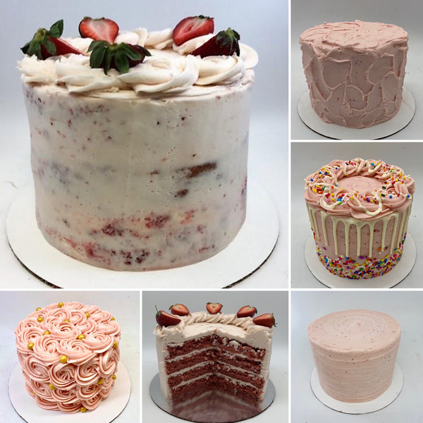Fresh Strawberry Cake (24 hours' notice required)