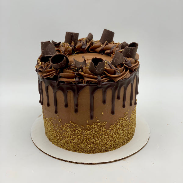 Golden Chocolate Amycake - Amycakes Bakery