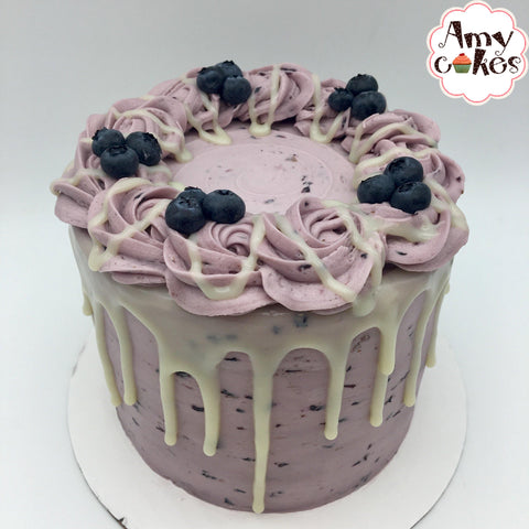Fresh Blueberry Amycake (Seasonal) - Amycakes Bakery