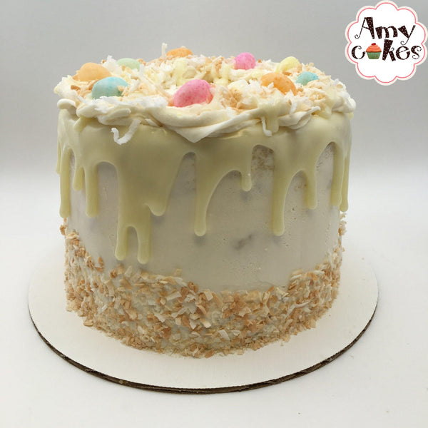 Easter Coconut Cream Amycake