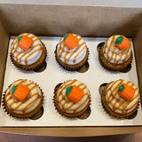 Pumpkin Spice Cupcakes (24 hours notice required)