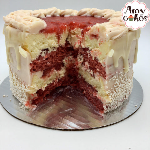 Strawberry Dream Cheesecake Amycake