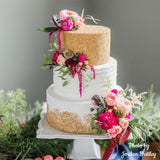 Classic Sprinkle and Horizontal Tiered Cake (Booked until 2021)