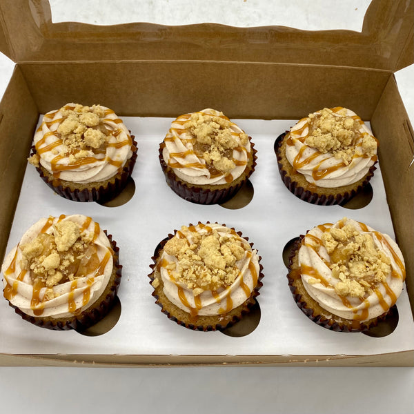 Apple Crumble Cupcakes (24 hours notice required)