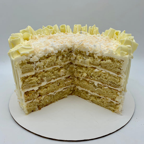 Coconut Cream Amycake (6 inch)
