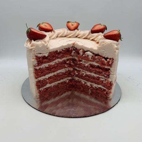 Fresh Strawberry Amycake (6 inch)